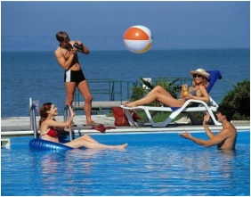 Swimming pool, Hotel Europa & Hungaria Siofok, Siofok