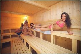 Hotel Corvus Aqua, Oroshaza, Finnish sauna