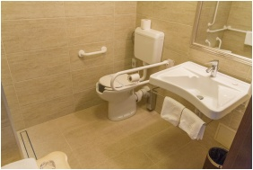 Bathroom, Hotel Delibab, Hajduszoboszlo