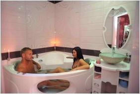 Hotel Erzsebet, Hevız, Bathroom