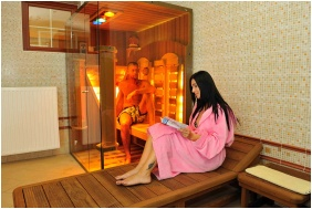 İnfrared sauna - Hotel Erzsebet