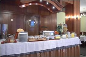 Hotel Erzsebet - Hevız, Buffet breakfast