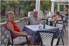 Hotel Erzsebet - Hevız, Terrace
