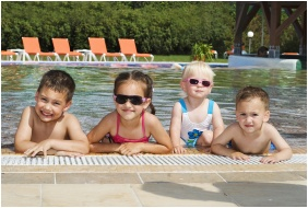 In the summer, Hotel Europa Fit, Heviz