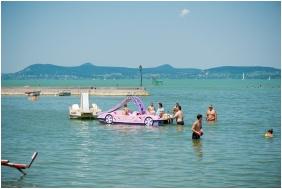 In the summer, Hotel Familia Balatonboglar, Balatonboglar