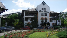 Hunguest Hotel Flora, Exterior view