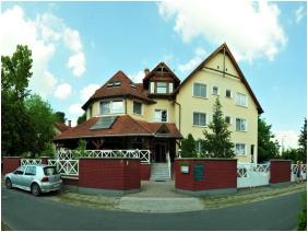 Building, Hotel Francoise, Balatonlelle