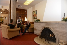 Fireplace - Hunguest Grand Hotel Galya