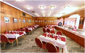 Hotel Gara Gyogy- es Wellness Szalloda, Restaurant - Fuzesgyarmat