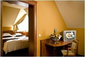 Hotel Gottwald, Nappali