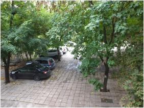 Parking place, Hotel Hajnal, Mezokovesd