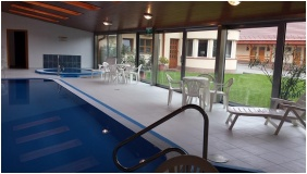 Inside pool - Hotel Halaszkert