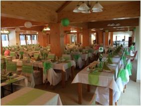 Hotel Halaszkert, Weddingmeal setting