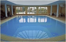 Inside pool, Hotel Hasik, Dobronte