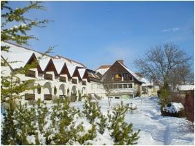 In the winter - Hotel Hasik
