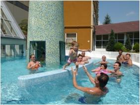 Adventure pool, Hunguest Hotel Helios, Heviz