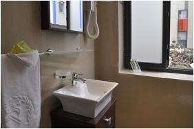 Bathroom, Hotel President, Budapest