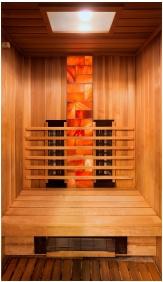 Infrared sauna - Hotel Honti