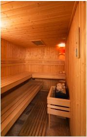 Hotel Honti, Finnish sauna