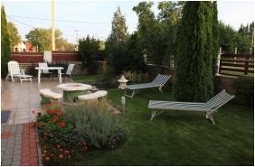 Inner garden, Hotel Jade, Veszprem