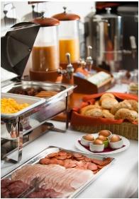 Breakfast, Hotel Jade, Veszprem