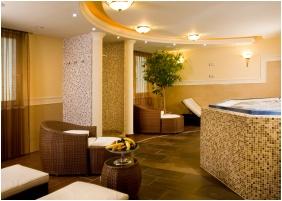 Deckchairs, Hotel Kalvaria, Gyor