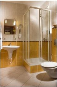 Bathroom, Hotel Kalvaria, Gyor