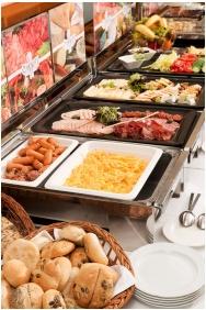 Hotel Kalvaria, Gyor, Buffet breakfast