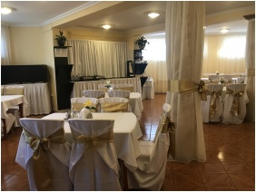 Hotel Korona, Frühstücksraum