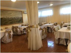 Frühstücksraum - Hotel Korona