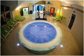 Kristály Hotel, Pezsgőfürdő