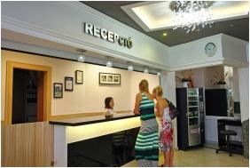 Recepció, Kristály Hotel, Keszthely