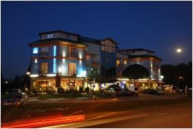 Kristály Hotel, Díszkivilágítás - Keszthely