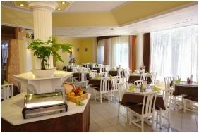 Breakfast room, Hotel Kristaly, Keszthely