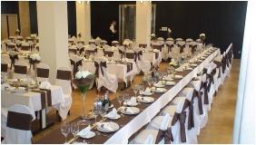 Weddingmeal setting