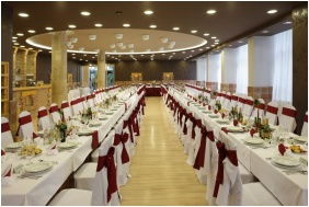 Weddingmeal setting, Hotel Laterum Wellness, Pecs