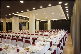 Hotel Laterum Wellness, Weddingmeal setting