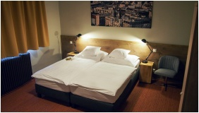 Classic room, Garda Hotel, Szombathely