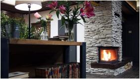 Fireplace, Hotel Liget Retro, Szombathely