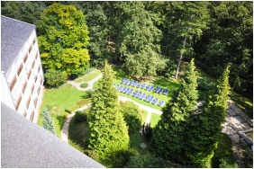 Hotel Lover, Vew from above - Sopron