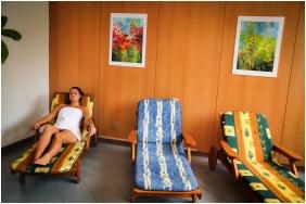 Nyugágyak, Hotel Lővér, Sopron