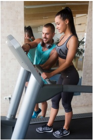 Hotel Lycium, Debrecen, Fitness terem