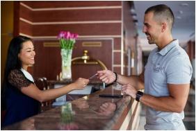 Hotel Lycium, Debrecen, Reception