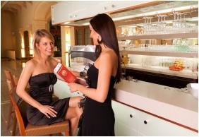 Bar desk, Hotel Magyar Kiraly, Szekesfehervar