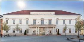 Homlokzat, Hotel Magyar Király, Székesfehérvár