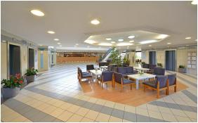 Recepció környéke, Hotel Marina, Balatonfüred