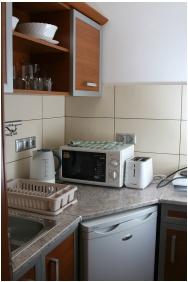 Hotel Napsugar, Küche