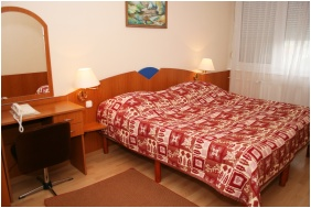 Hotel Napsugar, Schlafzimmer