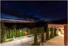 Hotel Narád & Park, Épület este - Mátraszentimre
