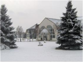 Hotel Ovit, Keszthely, In the winter